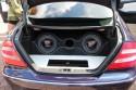 Mercedes CLK, zabudowa bagażnika CarAudio