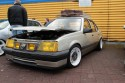 Opel Ascona, tuning, żółte lampy