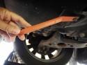 Odpinanie spinek osłony podwozia