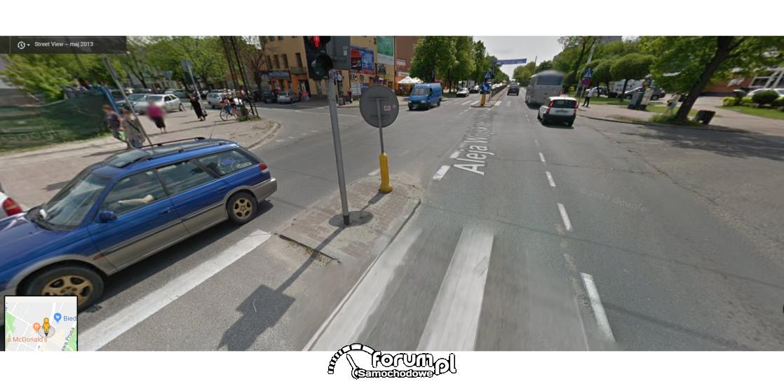 skrzyzowanie google maps