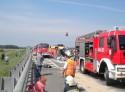 Wypadek na A4 pod Krapkowicami