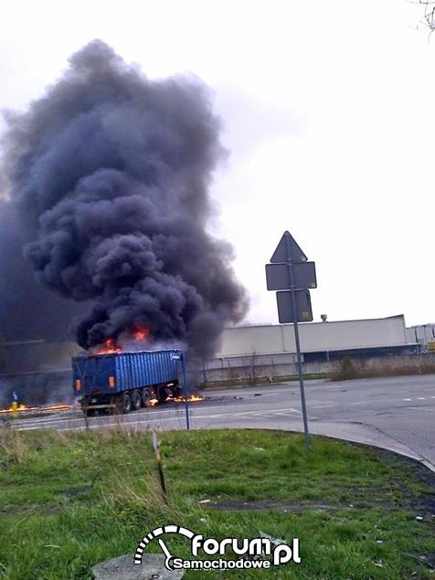 Wypadek na DK44 Tychy