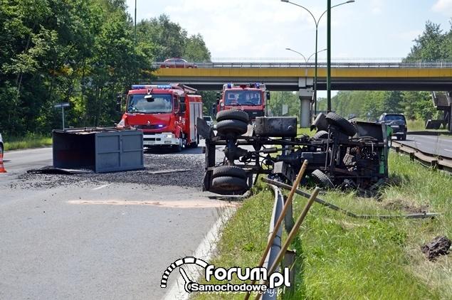 Wypadek na DK86