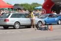 Audi 100 C4 kombi, kierowca odbiera czas przejazdu