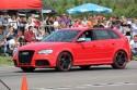 Audi RS3, czerwony kolor