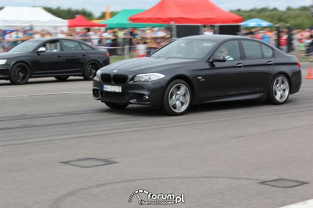 BMW M550i vs Audi RS6