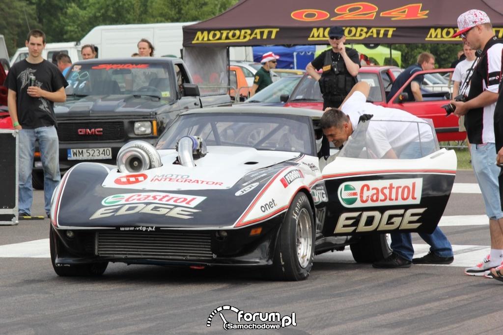 Chevlolet Corvette VTG 4x4 Turbo, Krzysztof Hołowczyc