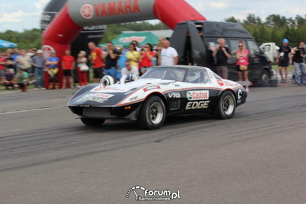 Chevlolet Corvette VTG 4x4 Turbo, podczas startu