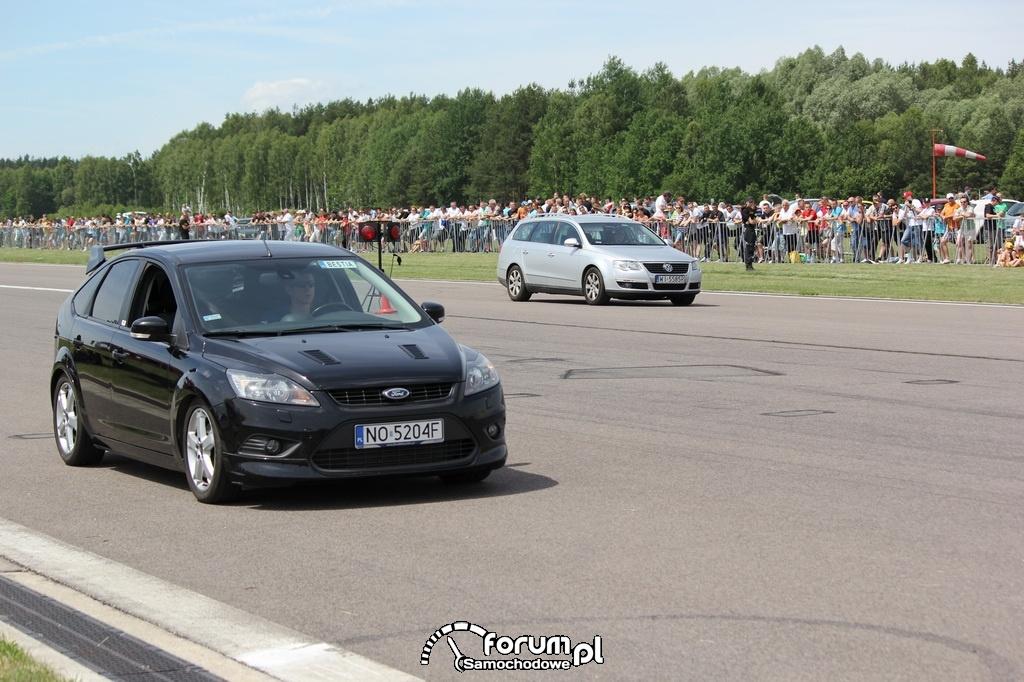 Ford Focus TDCI vs VW Passat B6 kombi