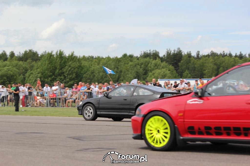 Honda Civic V vs Honda CRX