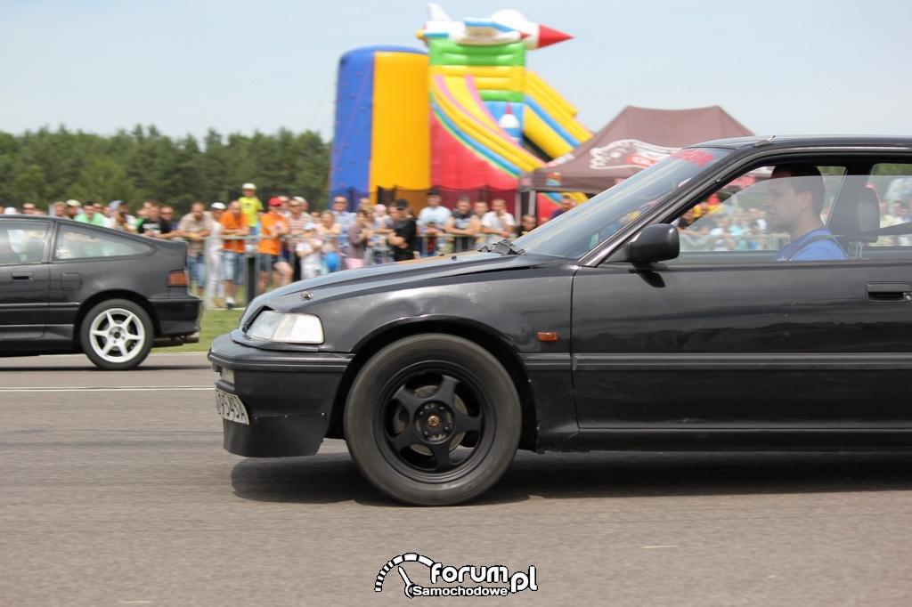 Honda CRX vs Honda CRX
