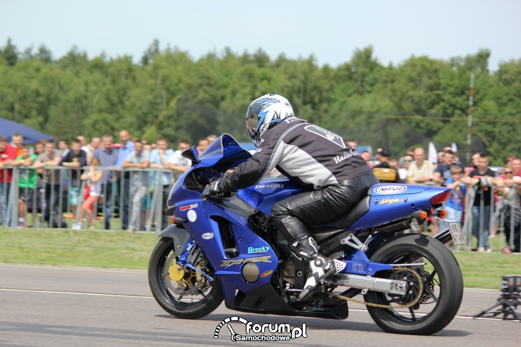 Kawasaki ZX-12R Ninja, sprint