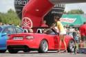 Mazda MX-5 cabrio, kierowca odbiera czas przejazdu