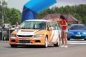 Mitsubishi Lancer EVO VIII, kierowca odbier czas przejazdu