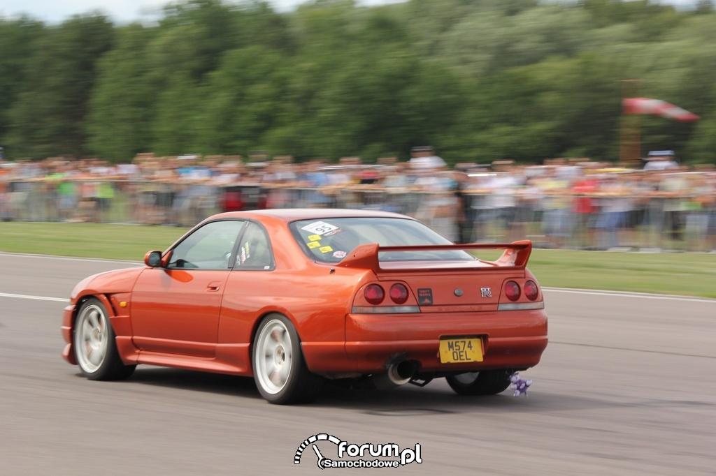Nissan Skyline GTR, podczas wyścigu