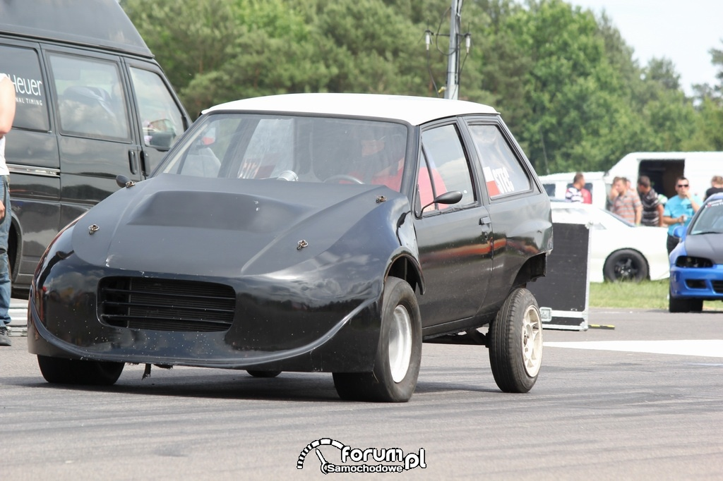 Opel Corsa, Stec, przed startem