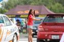 Subaru Impreza WRX Kombi, kierowca odbiera cas przejazdu