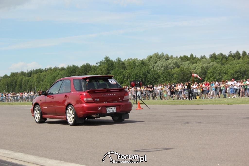 Subaru Impreza WRX Kombi, tył