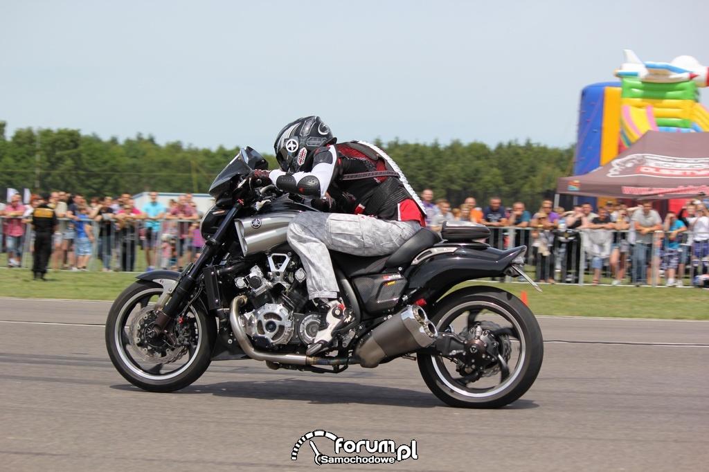 Yamaha, podczas wyścigu