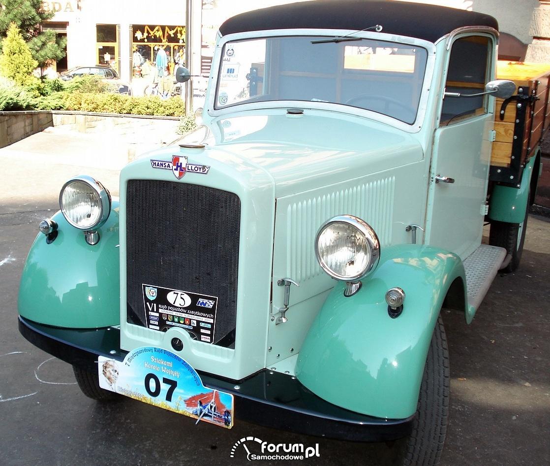 Hansa-Lloyd ciężarówka, old truck