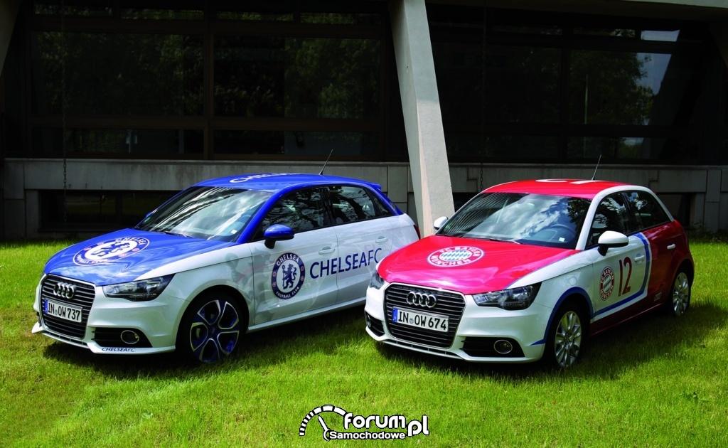 Audi A1 partnerem FC Chelsea, 2