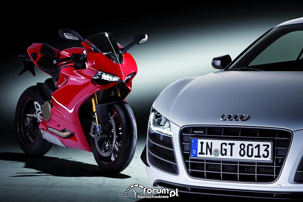 AUDI AG przejmuje producenta motocykli sportowych Ducati Motor Holding