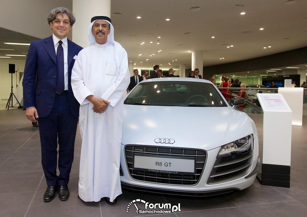 Audi R8 GT, salon w Dubaju