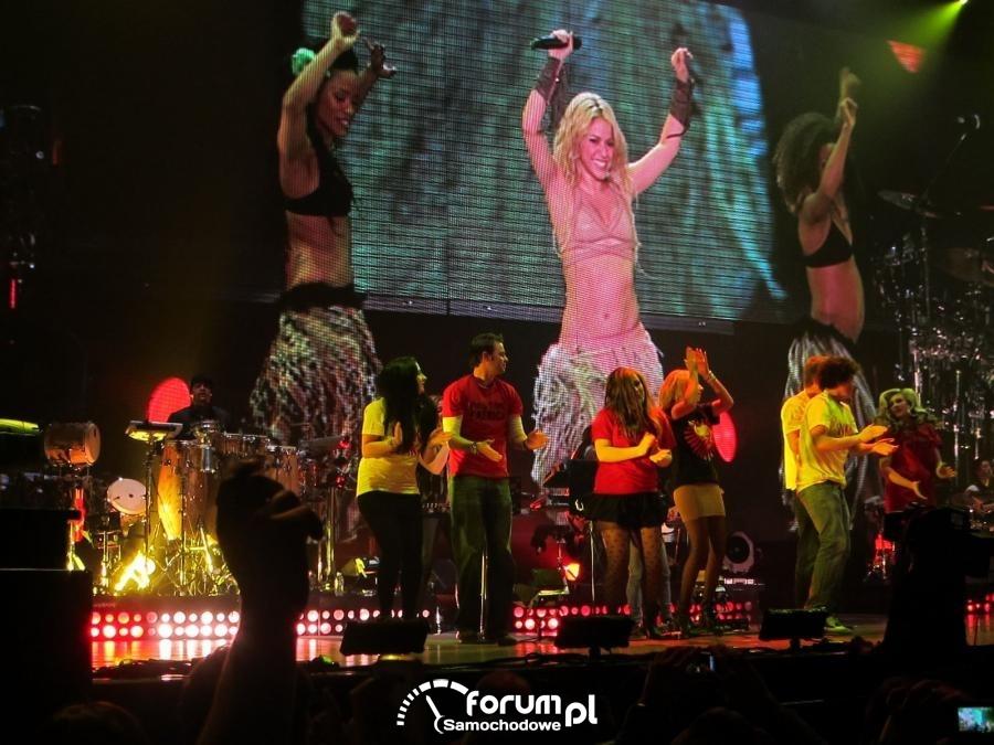 Belfast Odyssey Arena Dancing With Shakira Waka Waka