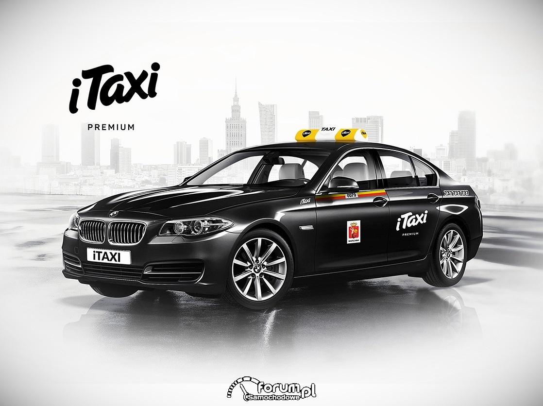 BMW serii 5 we flocie iTaxi