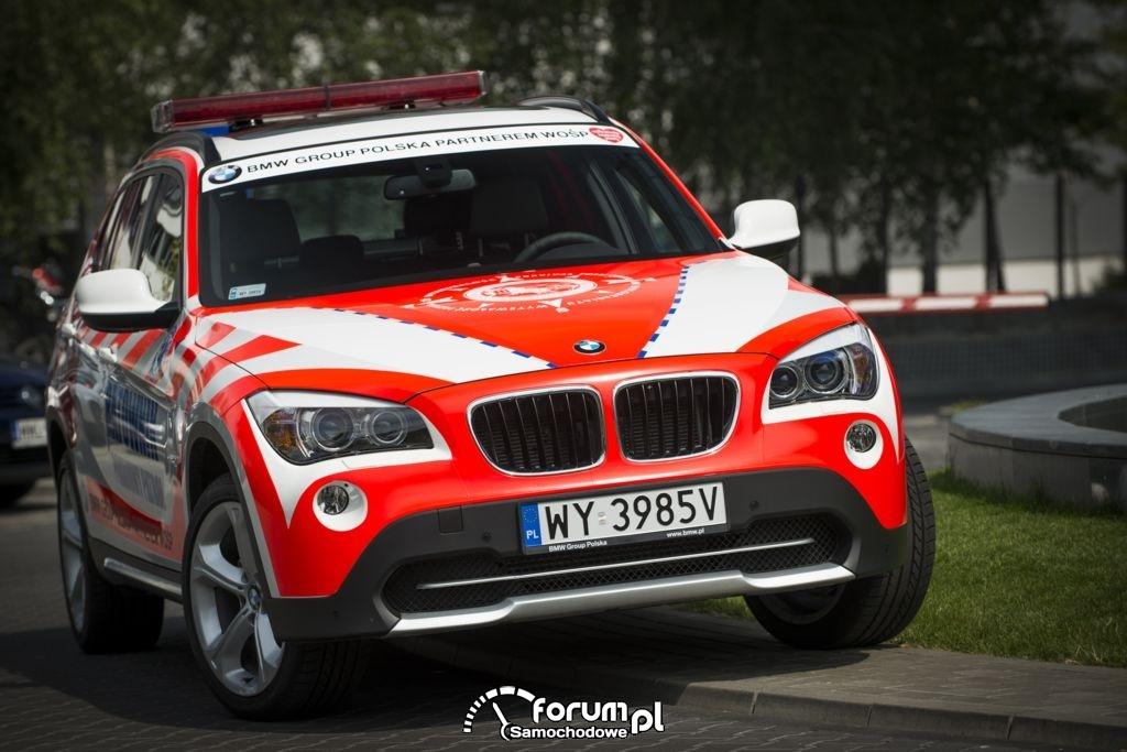 BMW X1, WOŚP, Ratownik