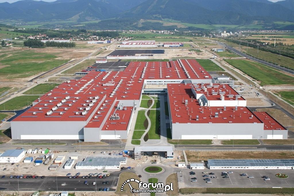 Budynki, Fabryka KIA - Żylina, Słowacja
