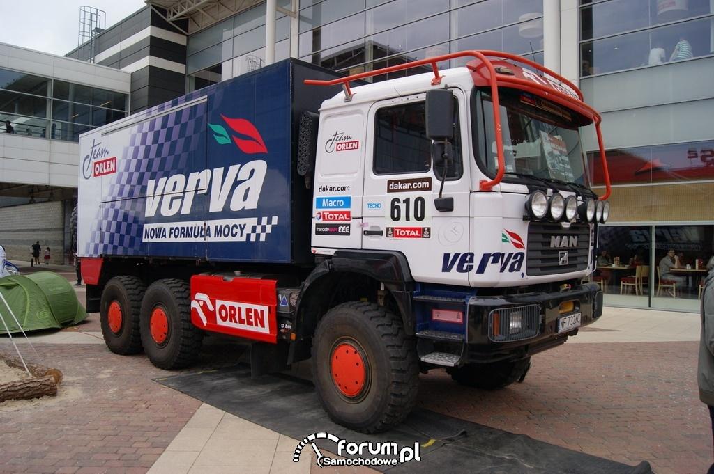 Ciężarówka Man, Dakar, Car Show Manufaktura 2013