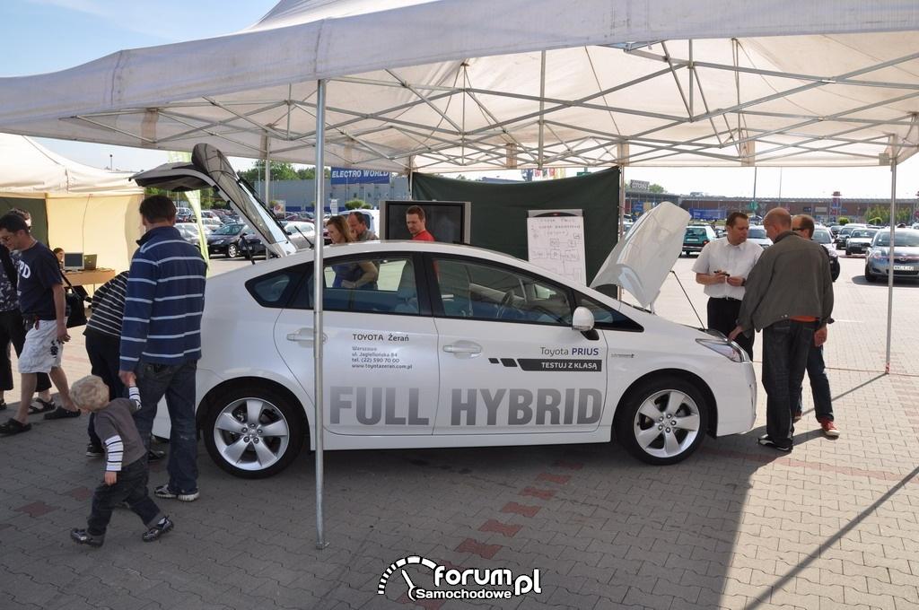 Ekobiegi - Toyota i piknik IKEA