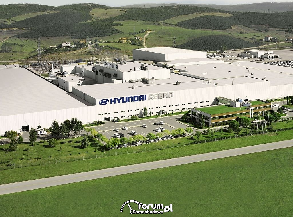 Fabryka Hyundaia w Turcji