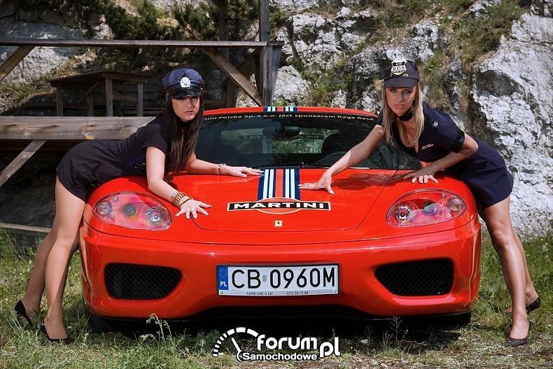 Ferrari i funkcjonariuszki rage-race 2008