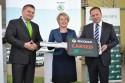 Firma Carsed przekazuje flotę samochodów Skoda Octavia dla Banku BPS