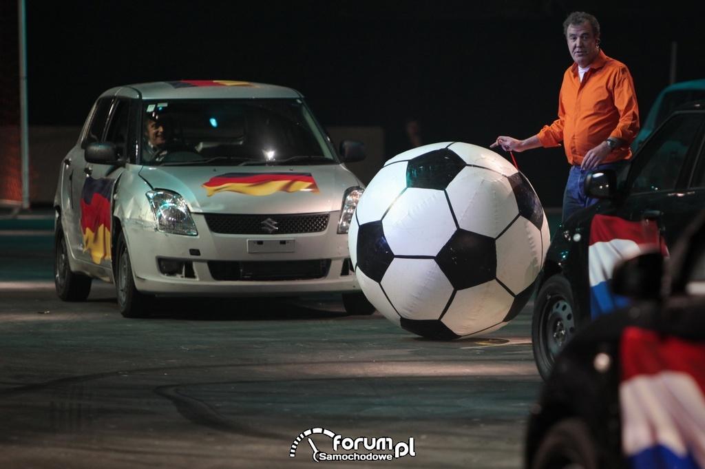 Football samochodowy, Suzuki Swift, Jeremy Clarkson, 2010