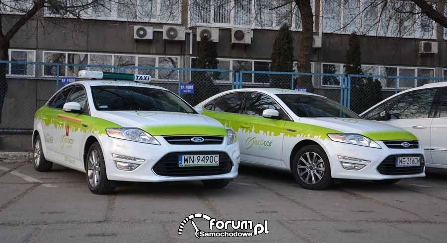 Ford Mondeo wyposażony w instalację elektryczną - EcoCar