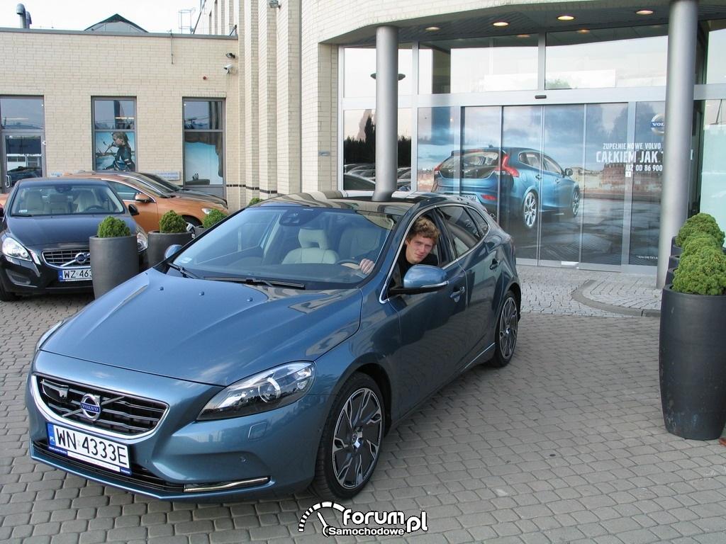 Jakub Jodłowski Volvo V40