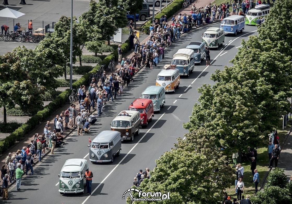 Kawalkada, parada VW T Bulli