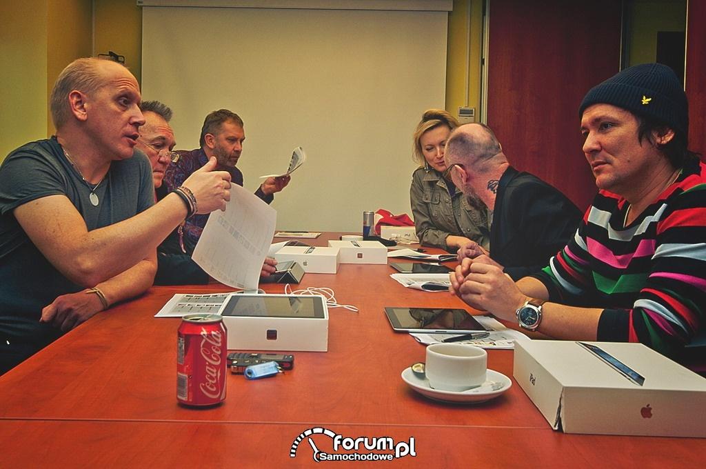 Konkurs SKODA Auto Muzyka, obrady jury