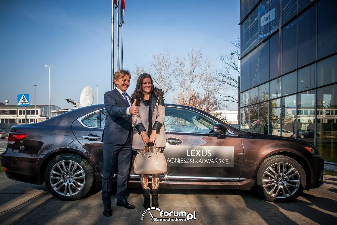 Lexus GS 450h Agnieszki Radwańskiej