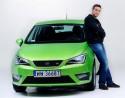 Marcin Dorociński i SEAT Ibiza FR