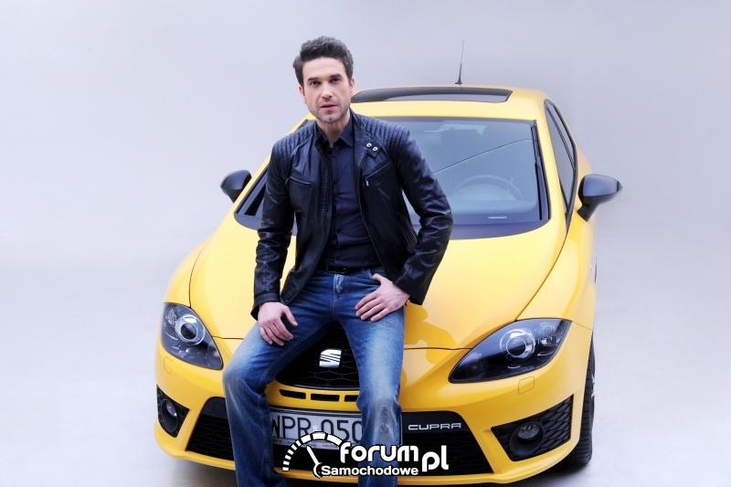 Marcin Dorociński - SEAT Leon FR