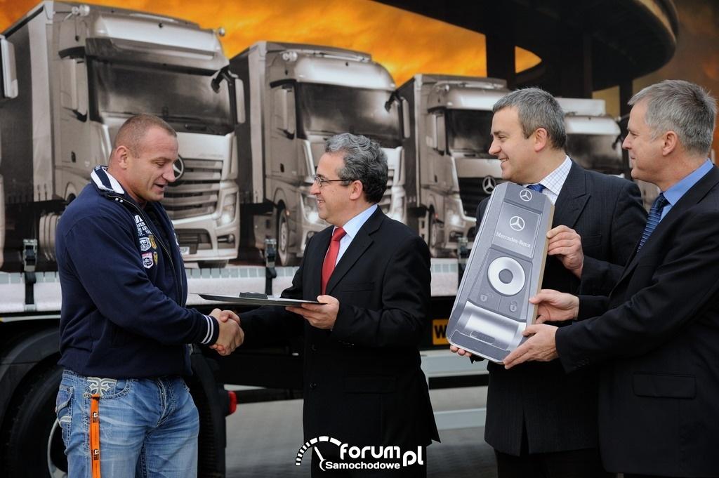 Mercedes-Benz Actros w firmie Pudzianowskiego