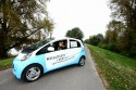 Mitsubishi i-MiEV 100% elektryczny samochód, Izabella Miko