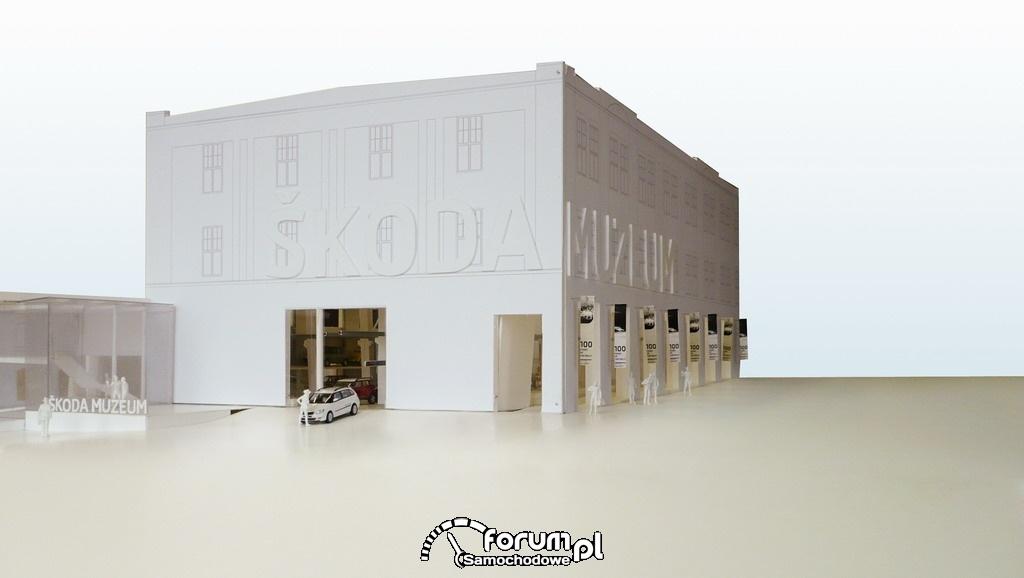 Muzeum SKODY, zachowuje swój zabytkowy styl.