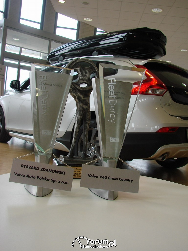 Nagrody Fleet Derby 2013 dla Volvo
