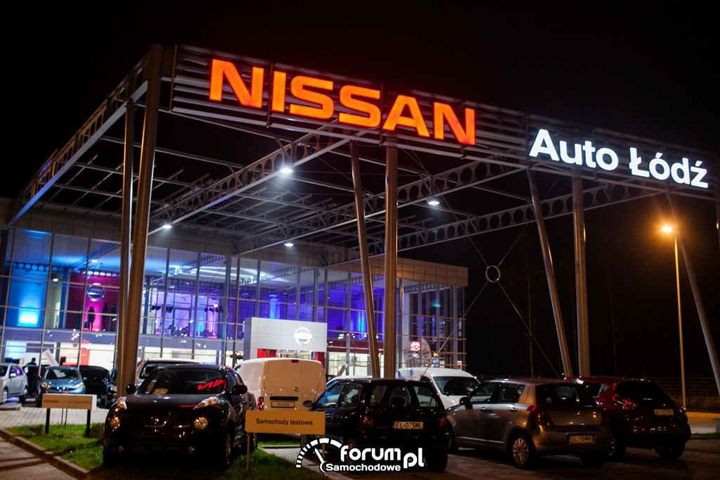 Nissan - Auto Łódź, salon i serwis
