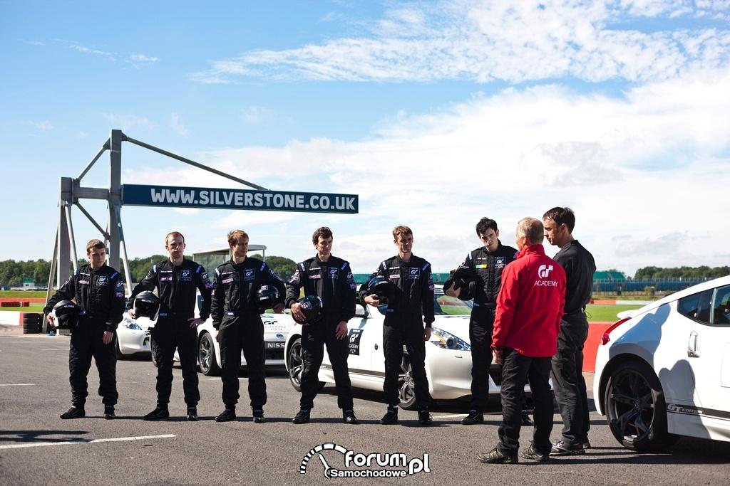 Nissan GT Academy na torze Silverstone